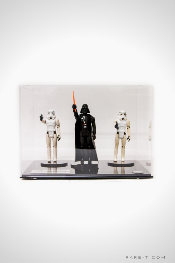 RARE-T Exclusive '1977 STAR WARS DARTH VADER & STORMTROOPERS' Museum Display