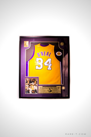 Shaquille O'Neal - Hand-Signed NBA Jersey