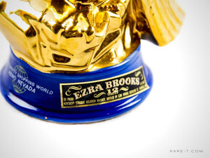 Collectors Series '1971 EZRA BROOKS 24K GOLD EAGLE' Decanter | RARE-T