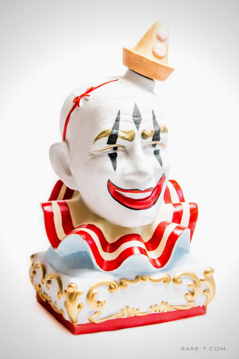 Limited Edition 1979 Decanter 'CLOWN No.Three PAGLIACCI - Pierot White Face' | RARE-T