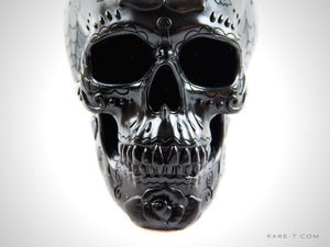 DAY OF THE DEAD HUMAN SKULL' Piggy Bank | RARE-T