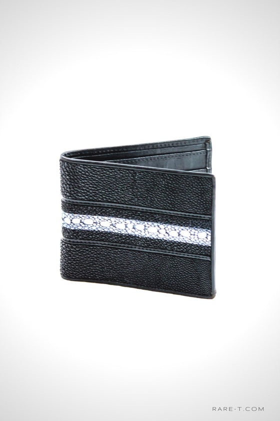 Authentic 'STINGRAY SKIN' Bifold Wallet | RARE-T