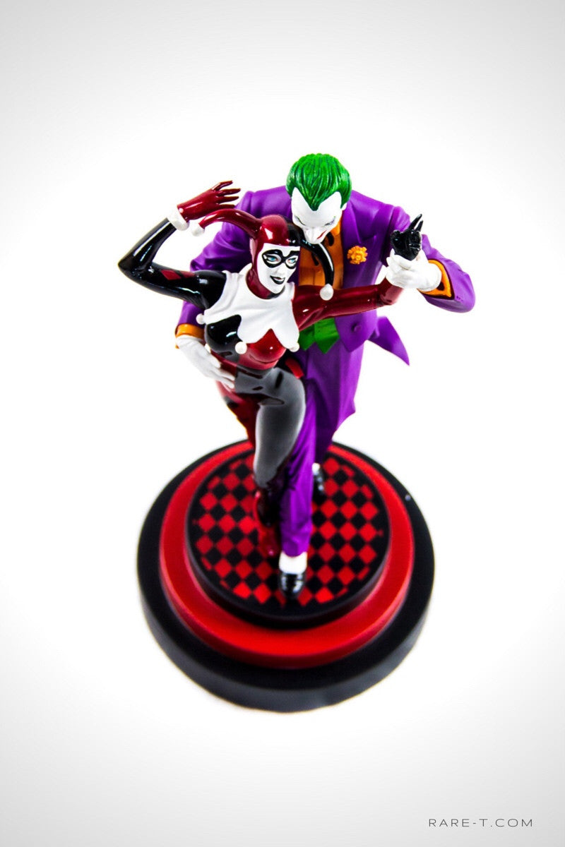 Limited Edition 'SUICIDE SQUAD-HARLEY QUINN #1/JOKER' Statue | RARE-T