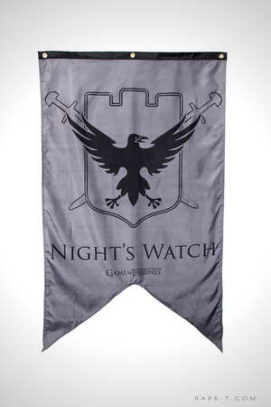 'GAME OF THRONES - NIGHT'S WATCH' Banner