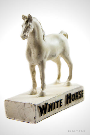 Antique 'WHITE HORSE-SCOTCH WHISKEY' Bar-Back Display/Advertisement |  RARE-T