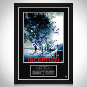 Inception Movie Mini Poster Limited Signature Edition Studio Licensed Custom Frame
