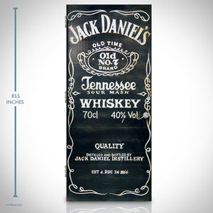 Jack Daniels Original Custom Wood Door