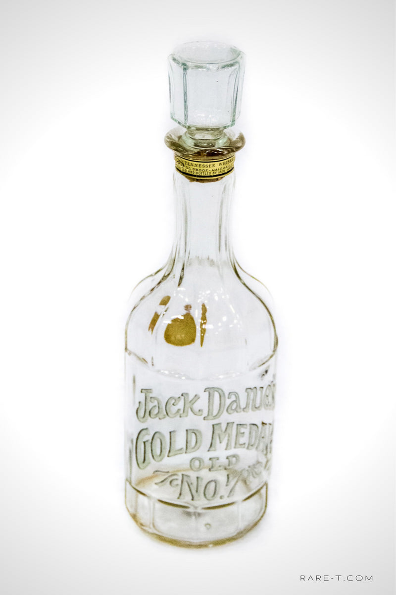 '1904 Jack Daniel's OLD NO. 7 GOLD MEDAL' Bottle/Decanter | RARE-T