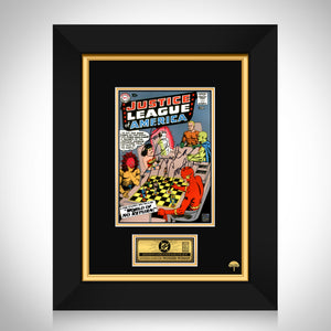 Justice League #1 - Lynda Carter Limited Signature Edition Licensed Comic Book Cover Art Custom Frame