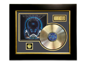 LIMITED EDITION GOLD LP 'JOURNEY - FRONTIERS' CUSTOM FRAME