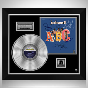 Jackson 5 - ABC Platinum LP Limited Signature Edition Studio Licensed Custom Frame