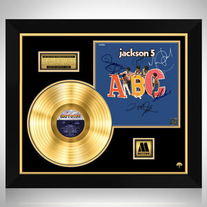 Jackson 5 - ABC Gold LP Limited Signature Edition Studio Licensed Custom Frame