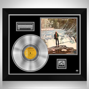 John Denver - Rocky Mountain High Platinum LP Limited Signature Edition Studio Licensed Custom Frame