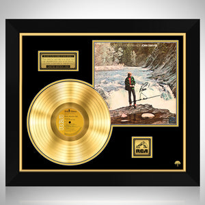 John Denver - Rocky Mountain High Gold LP Limited Signature Edition Studio Licensed Custom Frame