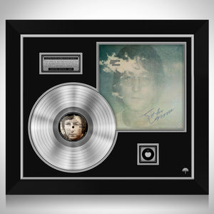 John Lennon Imagine Platinum LP Limited Signature Edition Studio Licensed Custom Frame