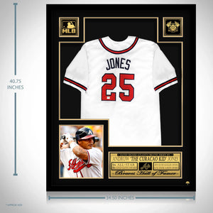 Andruw Jones- Hand-Signed Atlanta Braves Jersey By Andruw Jones