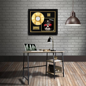 Judas Priest Hell Bent Gold LP For Leather Limited Signature Edition Studio Licensed Custom Frame