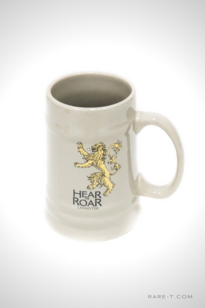'GAME OF THRONES-HOUSE LANNISTER SIGIL' Ceramic Stein