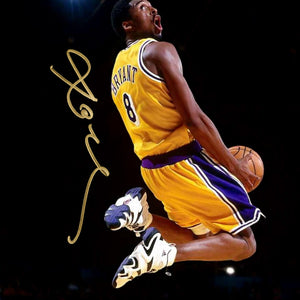 Kobe Bryant - Los Angeles Lakers Slam Dunk Limited Signature Edition Studio Licensed Photo Custom Frame