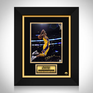 Kobe Bryant - Los Angeles Lakers Photo Limited Signature Edition Studio Licensed Custom Frame