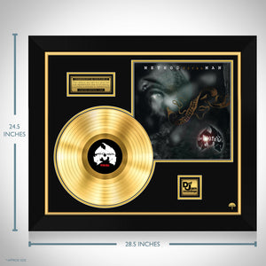 Method Man 'Tical' Limited Collectors' Edition Studio Licensed Gold LP Custom Frame