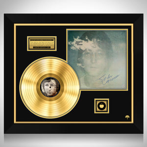 John Lennon Imagine Gold LP Limited Signature Edition Studio Licensed Custom Frame