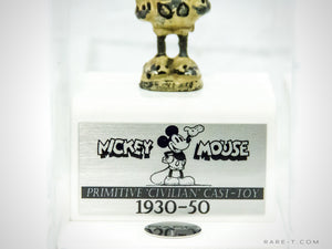 RARE-T Exclusive | 1930-1950 Mickey Mouse Museum Display