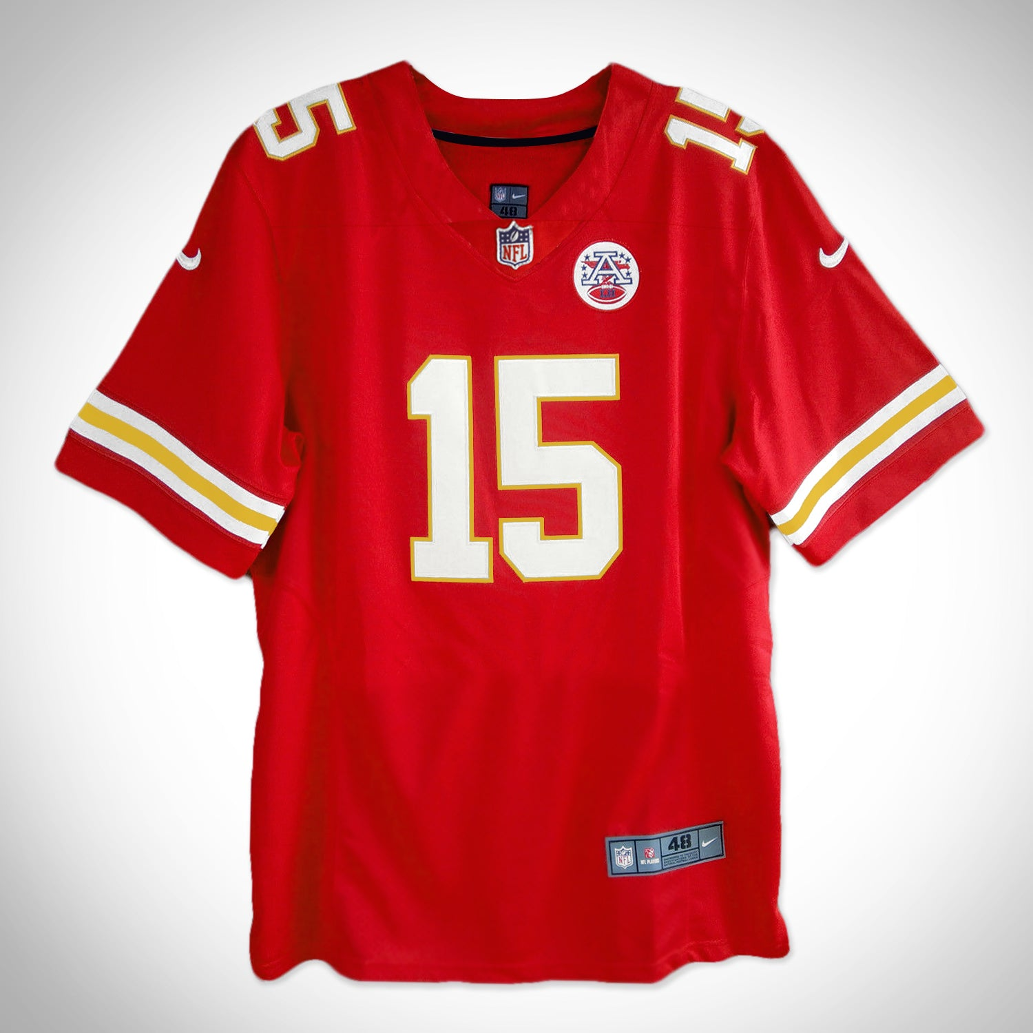 hot sale online ccf43 c8239 Kansas City Chiefs- Hand-Signed Jersey by Patrick Mahomes & Team Custom  Frame