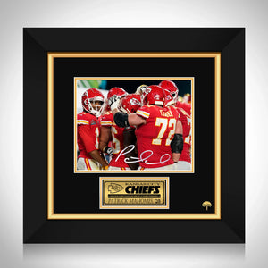 Kansas City Chiefs Patrick Mahomes Limited Signature Edition Studio Licensed Photo Custom Frame