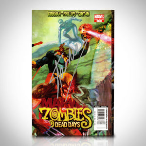 Marvel Zombie Dead Days (2007) # 1 Hand-Signed Comic Book By Stan Lee Custom Frame