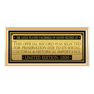 Michael Jackson Thriller Gold LP Limited Signature Edition Studio Licensed Custom Frame
