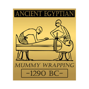Authentic Ancient Egyptian Mummy Linen Wrapping From 1290 BC Custom Museum Display