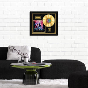 Muse - 'Simulation Theory' Band Hand-Signed 24k Gold Plated Record Custom  Frame