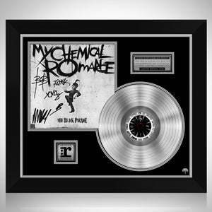 My Chemical Romance - The Black Parade Platinum LP Limited Signature Edition Studio Licensed Custom Frame