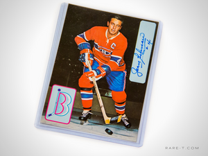 Handsigned 'JEAN BELIVEAU' Postcard 3x5