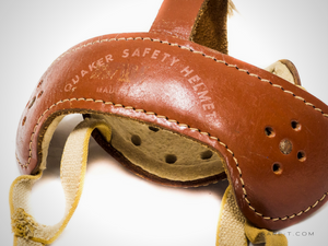 Vintage 1950's 'LEATHER HOCKEY MASK'