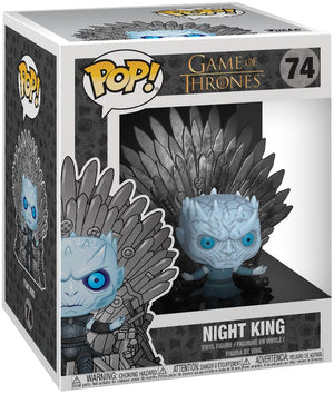 Game Of Thrones- Night King On Throne Funko Pop #74