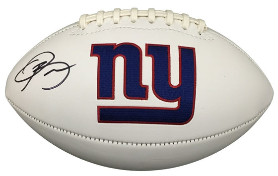 'NEW YORK GIANTS - HAND SIGNED BY ODELL BECKHAM JR. ' Football