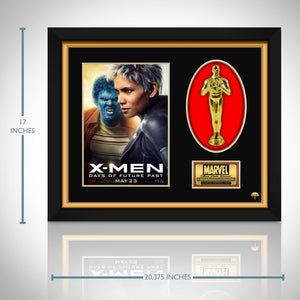 X-Men- 'Days Of Future Past' - Limited Edition Studio Licensed 24k Gold Oscar Custom Frame (A)