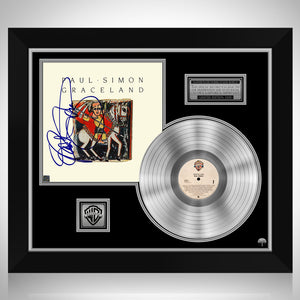 Paul Simon - Graceland Platinum LP Limited Signature Edition Studio Licensed Custom Frame