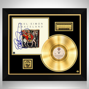 Paul Simon - Graceland Gold LP Limited Signature Edition Studio Licensed Custom Frame