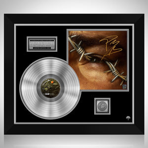 Post Malone Beerbongs and Bentleys Platinum LP Limited Signature Edition Studio Licensed Custom Frame
