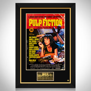 Pulp Fiction Movie Mini Poster Limited Signature Edition Studio Licensed Custom Frame