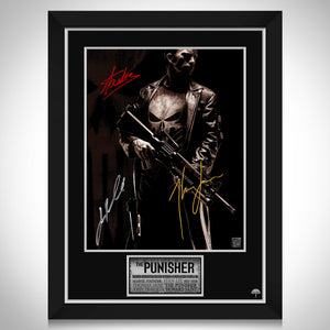 The Punisher (2004) Limited Signature Edition Studio Licensed Movie Mini Poster Custom Frame