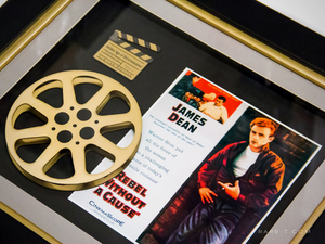 'REBEL WITHOUT A CAUSE - MOVIE REEL' Custom Frame