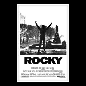 Rocky Movie Script Limited Signature Edition Studio Licensed Custom Frame
