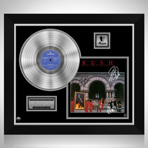 Rush Moving Pictures Platinum LP Limited Signature Edition Studio Licensed Custom Frame