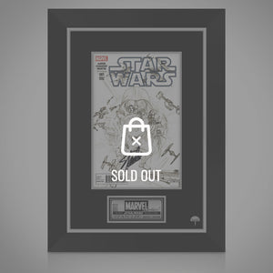 Star Wars - Hand-Signed Sketch Variant Comic By Stan Lee