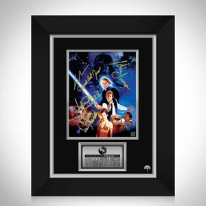 Star Wars Return of the Jedi Photo Limited Signature Edition Studio Licensed Custom Frame