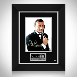 Sean Connery James Bond Memorial Photo Limited Signature Edition Studio Licensed Custom Frame